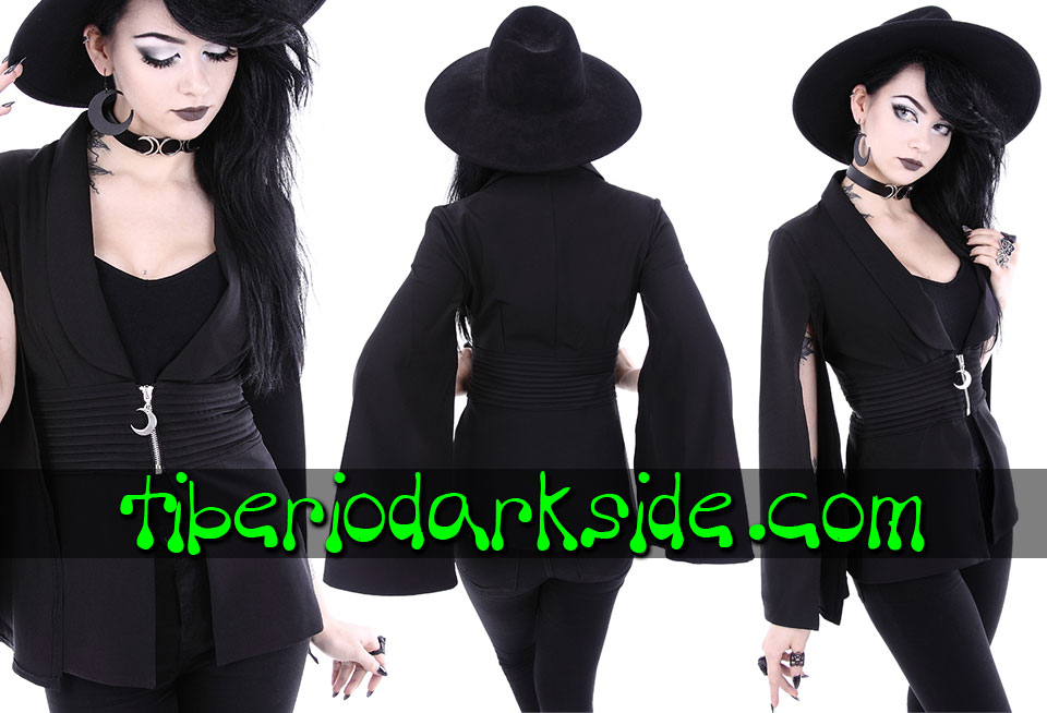 RESTYLE - Outwear RESTYLE Moon Goddess Nu Goth jacket