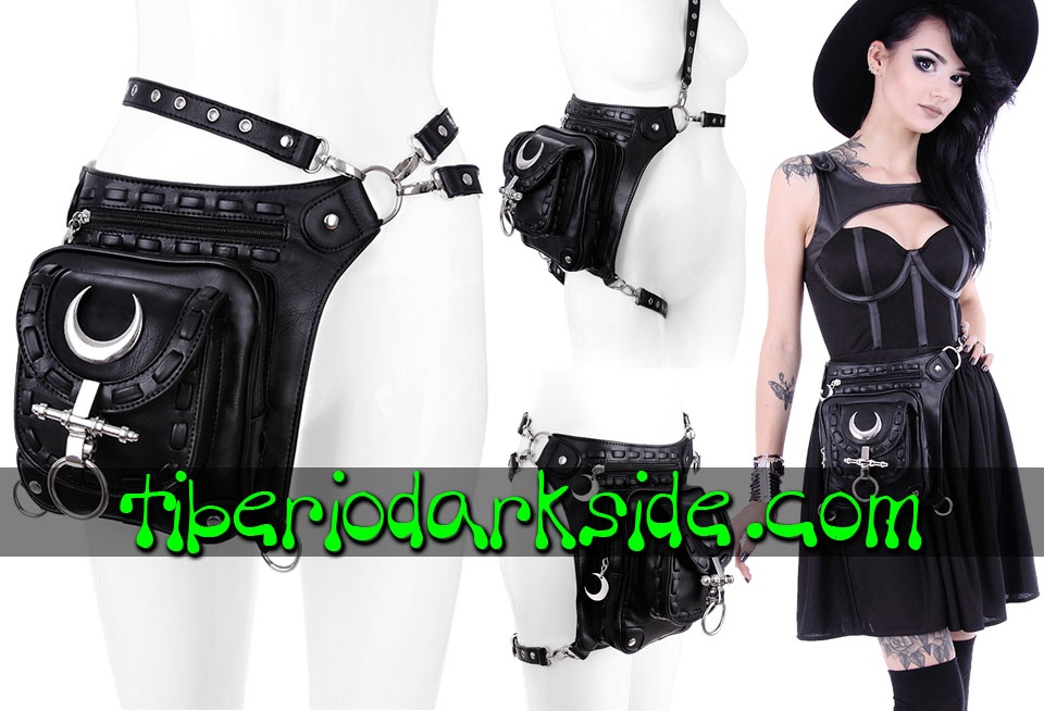 WITCHY & NU GOTH - Accessories RESTYLE Iron Moon Holster Bag Belt