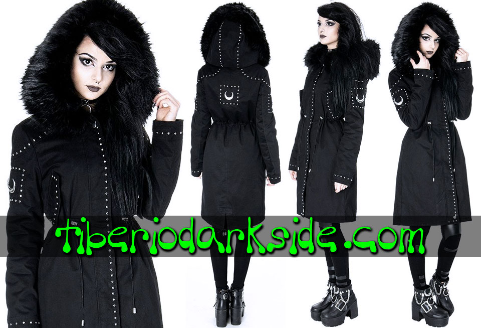 RESTYLE - Outwear RESTYLE Moon Parka Nu Goth Hooded Coat