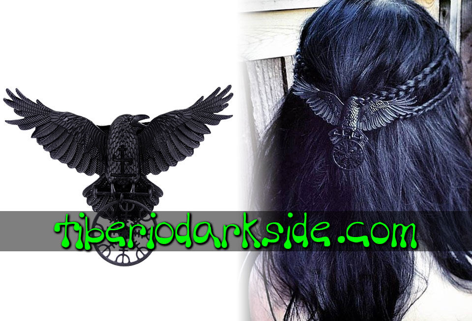 WITCHY & NU GOTH - Accessories RESTYLE Nordic Raven Nu Goth Hair Barrete