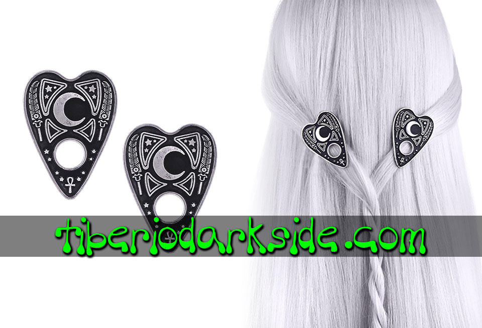 WITCHY & NU GOTH - Accessories RESTYLE Ouija Planchette Nu Goth Hair Clips