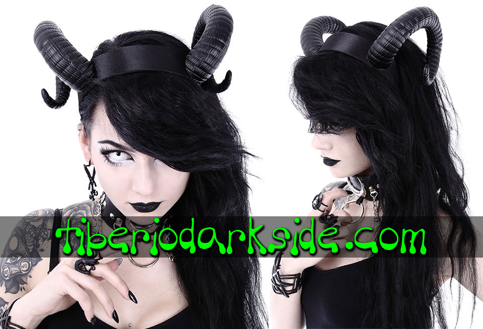 WITCHY & NU GOTH - Accessories RESTYLE Ram Horns Nu Goth Headband