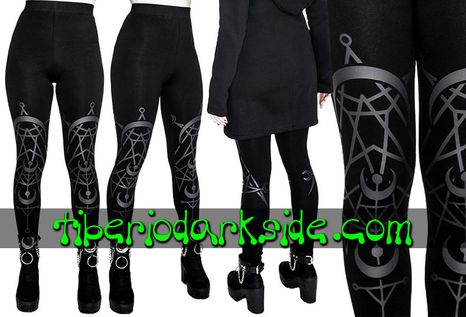 WITCHY & NU GOTH - Leggings RESTYLE Leggings Nu Goth Luna Gemela