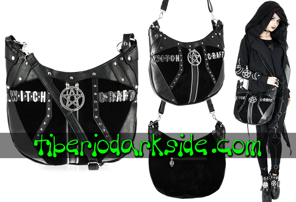 WITCHY & NU GOTH - Bolsos RESTYLE Bolso Nu Goth Croissant Witchcraft