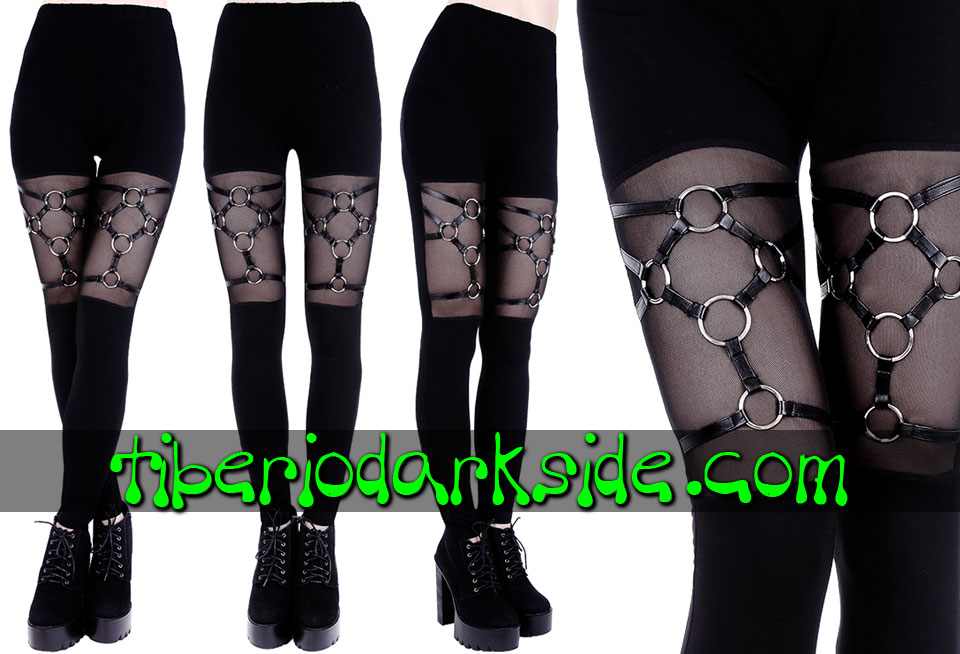 WITCHY & NU GOTH - Leggings RESTYLE Leggings Nu Goth Arnes Argollas