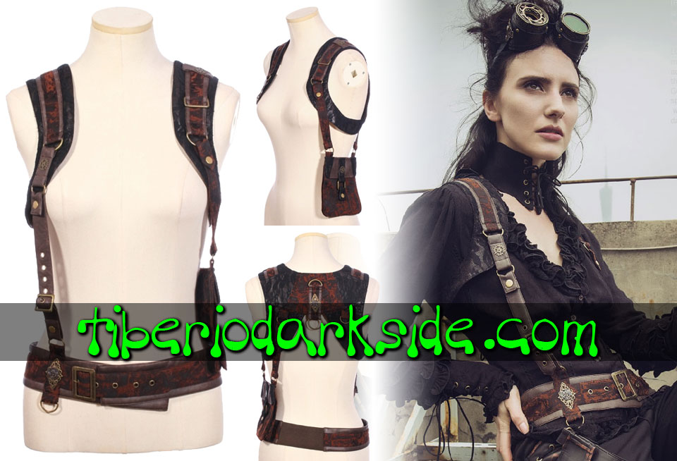 ACCESSORIES - Harnesses RQ-BL Side Pocket Steampunk Harness