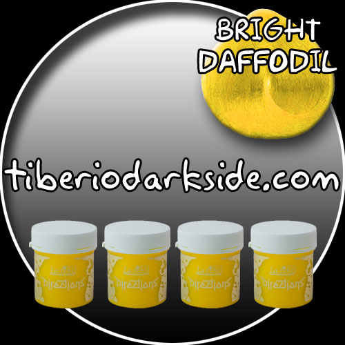 HAIR DYES - Hair Dye Box DIRECTIONS Bright Daffodil Hair Dye x 4 tubs