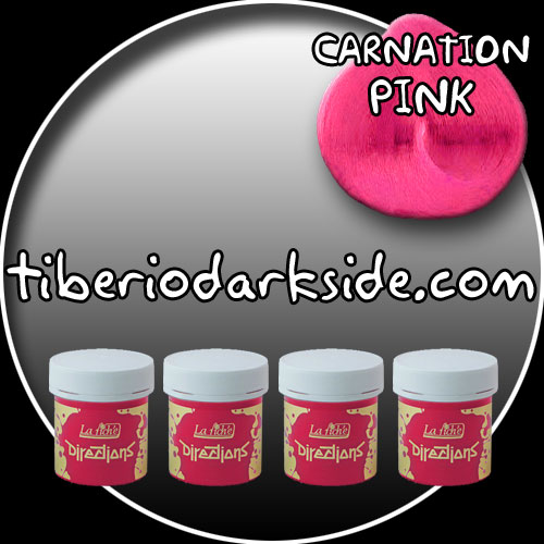 HAIR DYES - Hair Dye Box DIRECTIONS Carnation Pink Hair Dye Box (4 tubs)