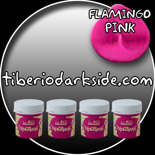 HAIR DYES - Hair Dye Box DIRECTIONS Flamingo Pink Hair Dye x 4 tubs
