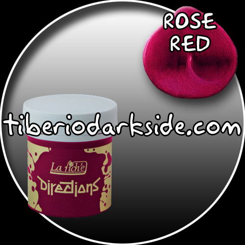 TINTES - Tintes Botes DIRECTIONS Tinte Rose Red