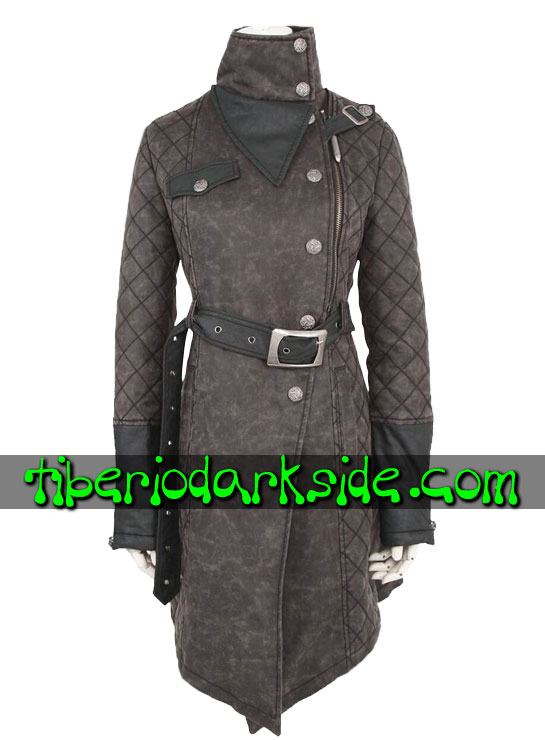 Tiberio Dark Side. Coats - PUNK RAVE Army Post Apocalyptic Coat