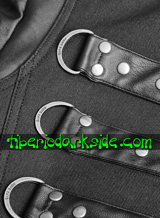 Tiberio Dark Side. CORPORATE & MILITARY GOTH - PUNK RAVE Chaqueta Military Goth Soldado