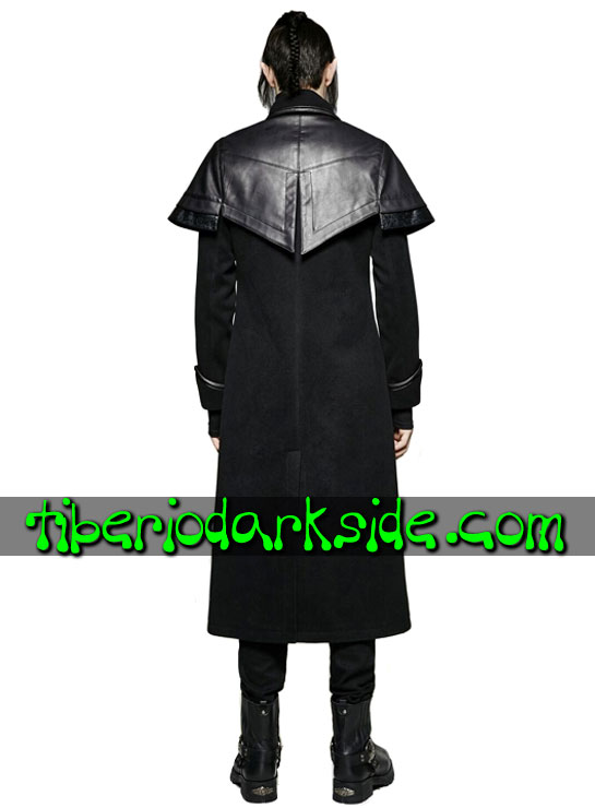 Tiberio Dark Side. CORPORATE & MILITARY GOTH - PUNK RAVE Abrigo Militar Uniforme Capitan