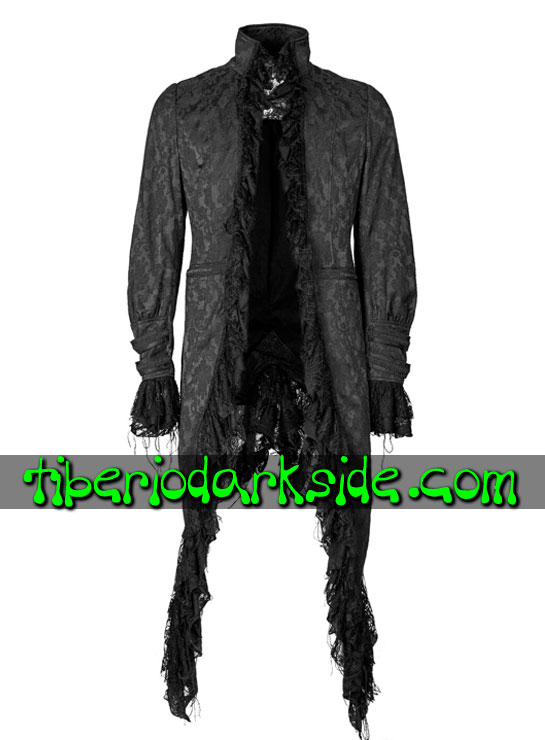 Tiberio Dark Side. Ropa de Abrigo - PUNK RAVE Abrigo Barroco Decadente